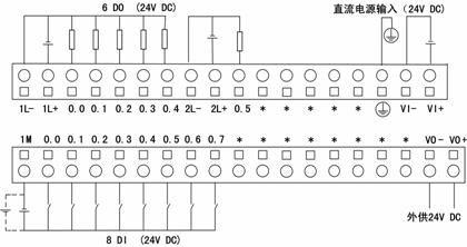 lm3104模块端子定义与接线图