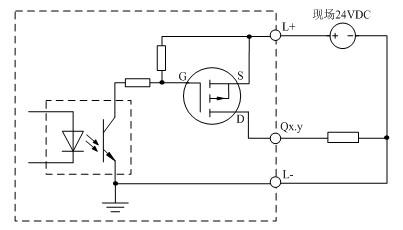 lm3104输出通道等效电路图