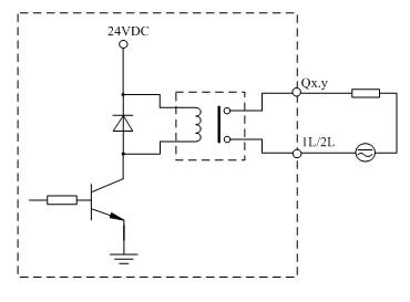 lm3105输出通道等效电路图